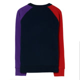 HANK Sailor Blue Colorblock - Crew Neck Sweater