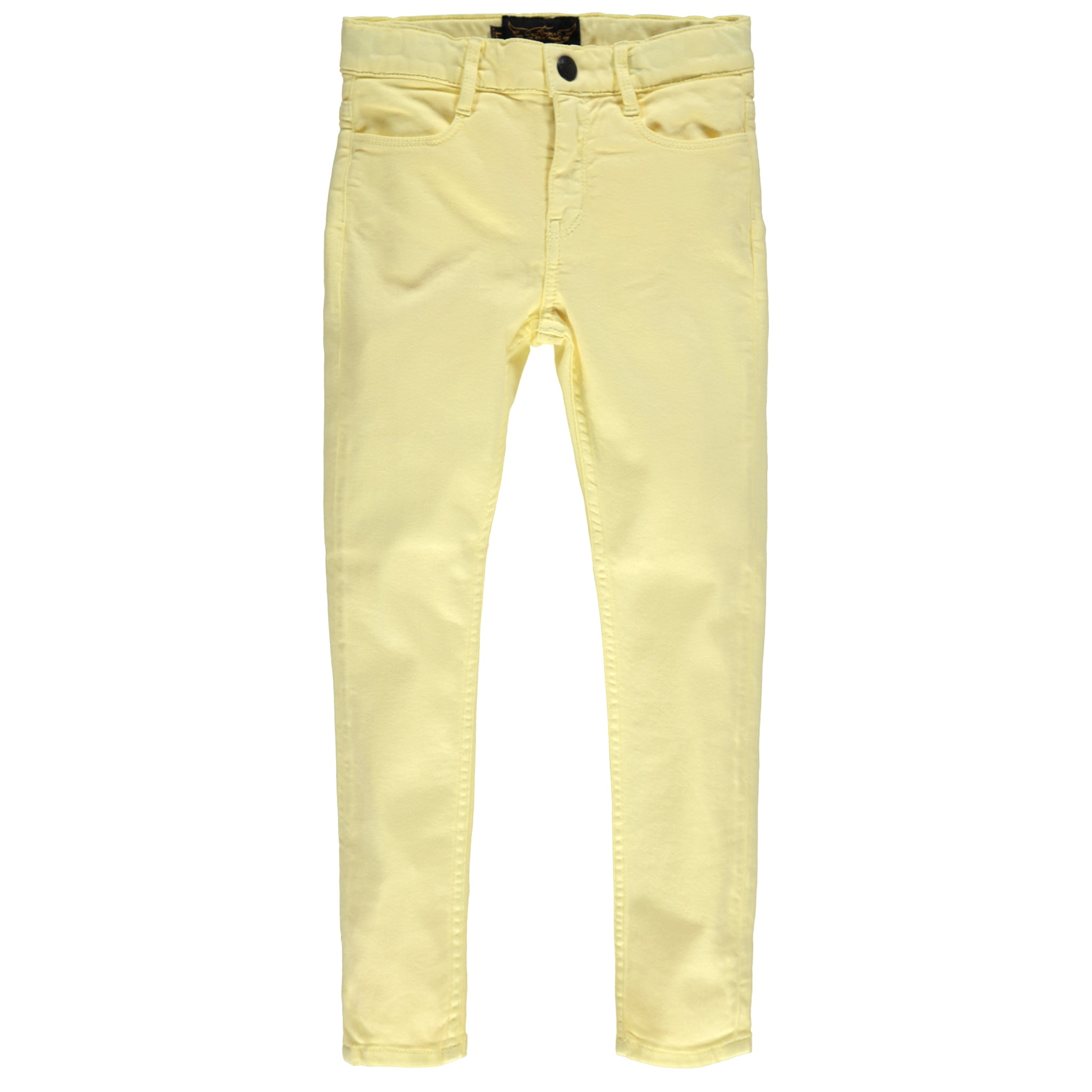 TAMA Pale Yellow - Skinny Fit Jeans