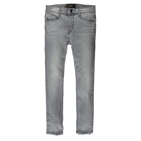 TAMA Grey Denim - Unisex Skinny Fit Jeans