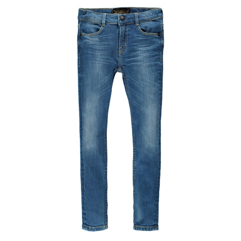 TAMA Medium Blue - Unisex Skinny Fit Jeans