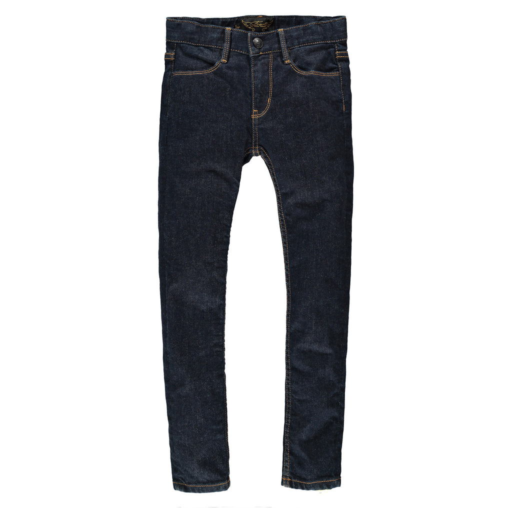 TAMA Raw Denim Blue - Unisex Skinny Fit Jeans