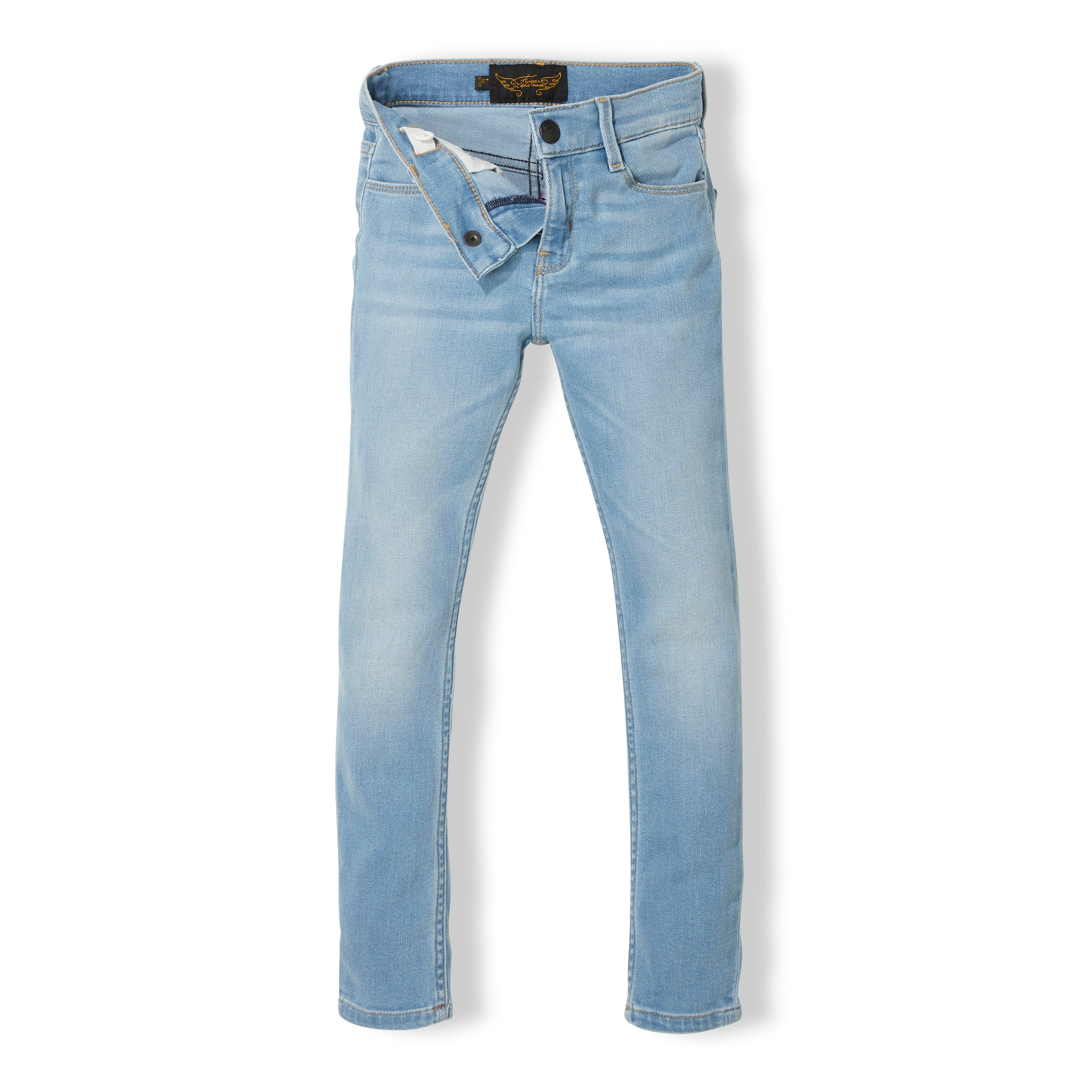 TAMA Bleached Blue - Girl Woven Skinny Fit Jeans 2