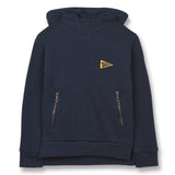 TEMPEST Sailor Blue Finger Flag - Hight Neck Hoodie 1