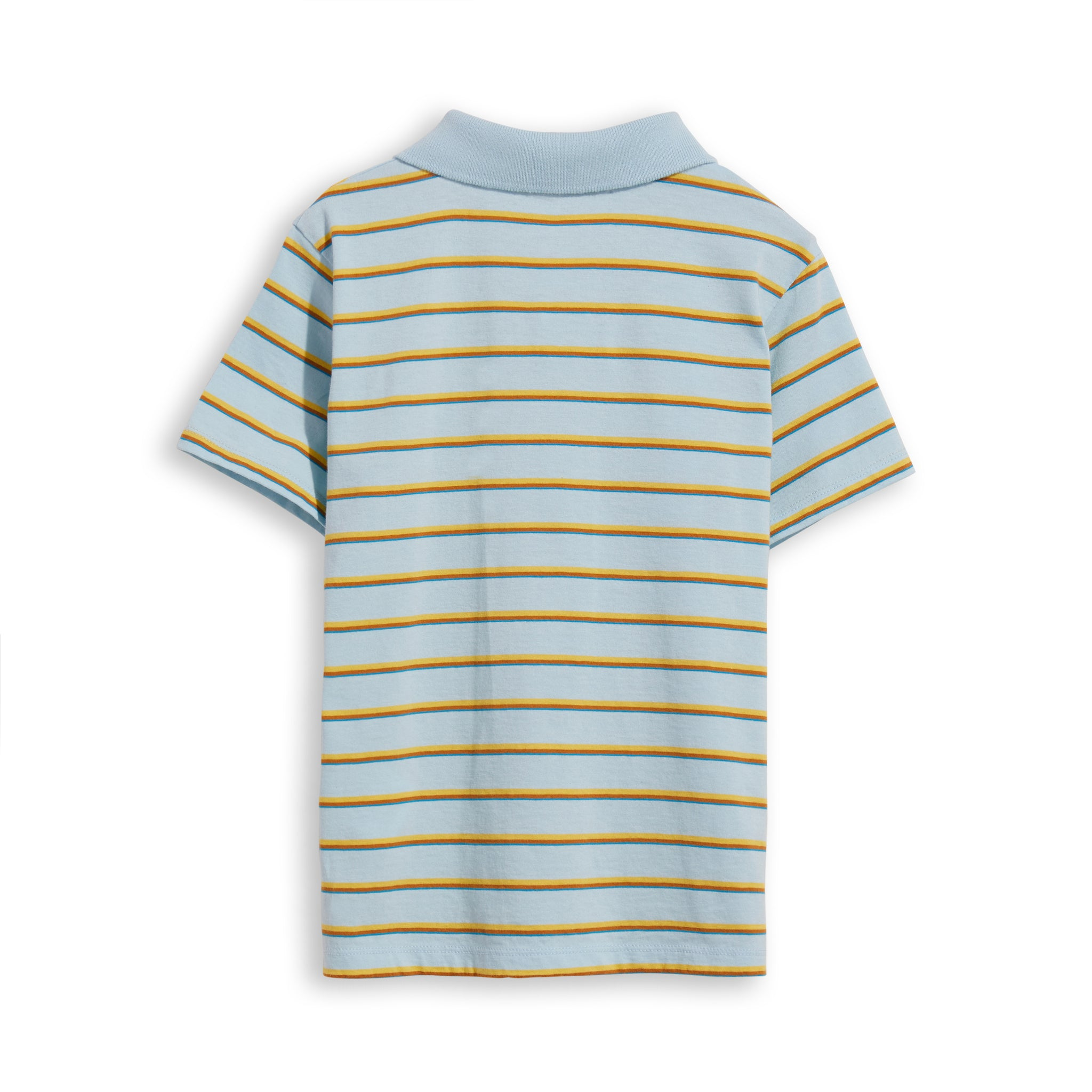 TOMMY Sun Blue Stripes -  Short Sleevess Polo 3