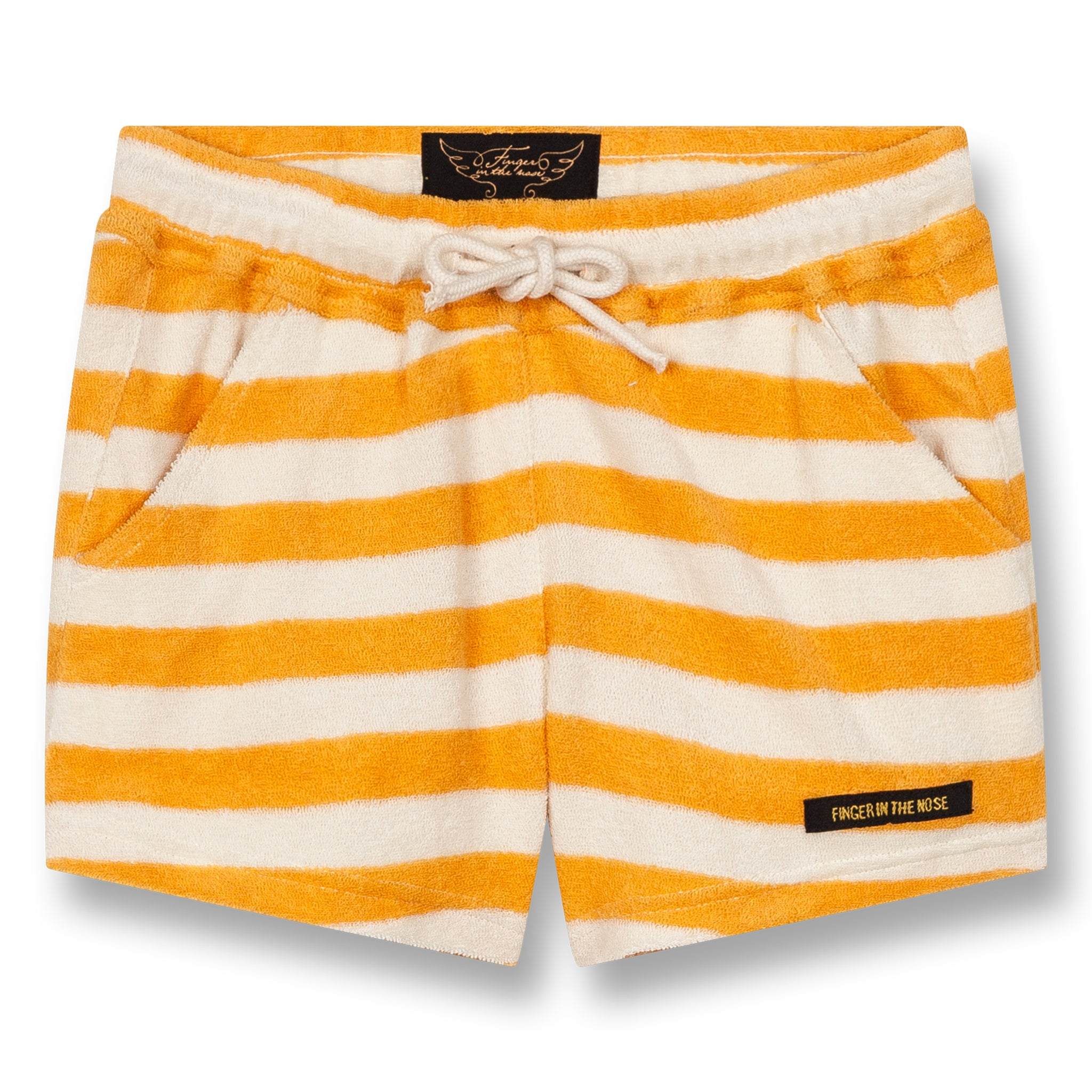 TRINITY Mandarin Stripes - Mini Shorts 1