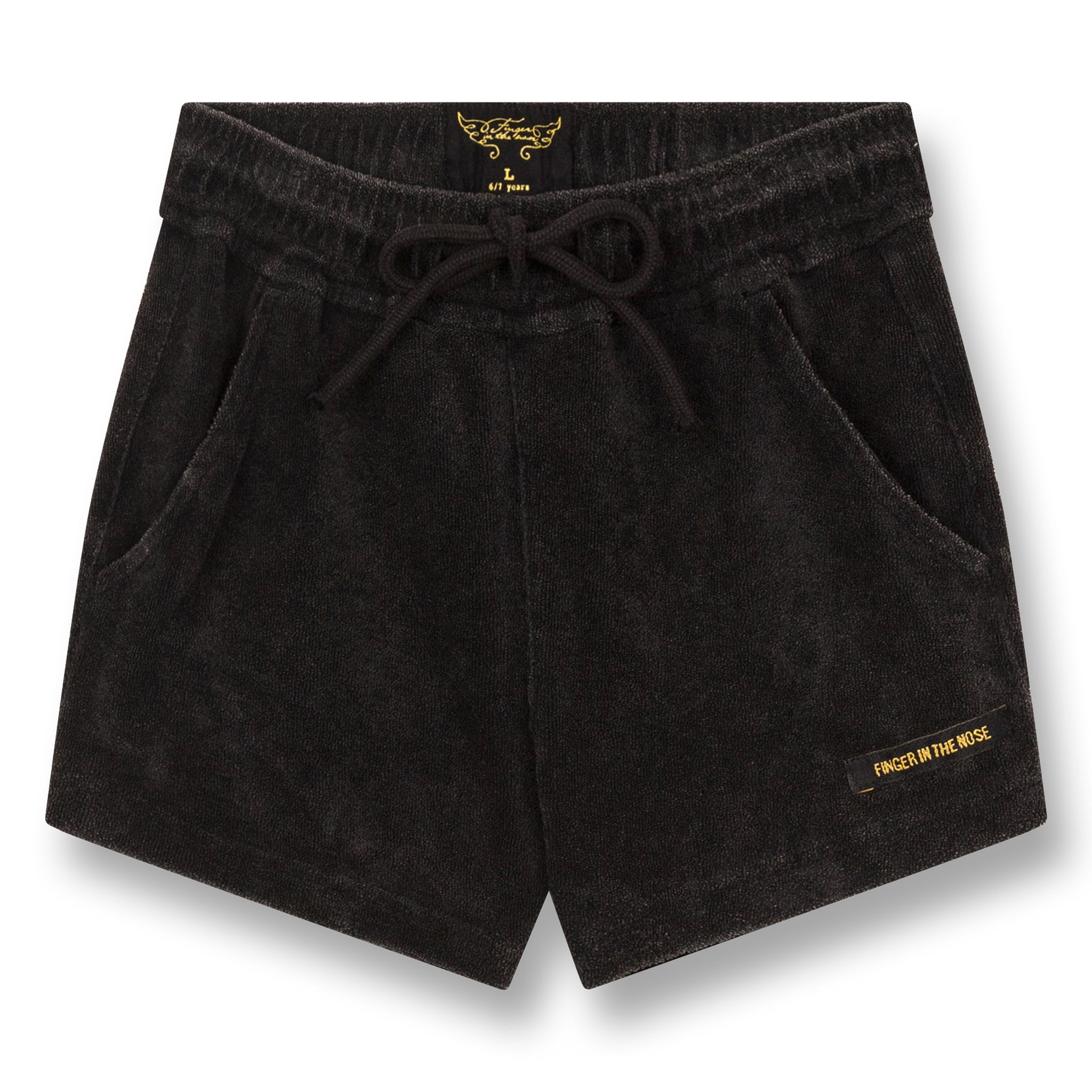 TRINITY Vintage Black - Mini Shorts 1