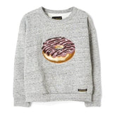 TURNER  Heather Grey Donut - Oversized Sweatshirt