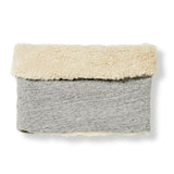 TURTLE Heather Grey -  Knitted Neck Warmer 1