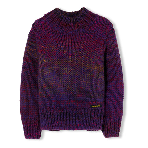 VANITY Purple - Oversized Jumper 1