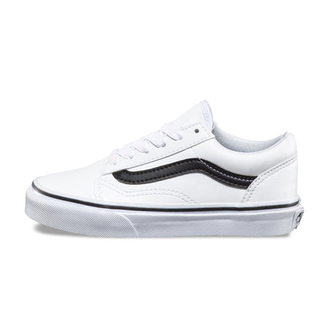 VANS Classic Tumble Old Skool - White-Black