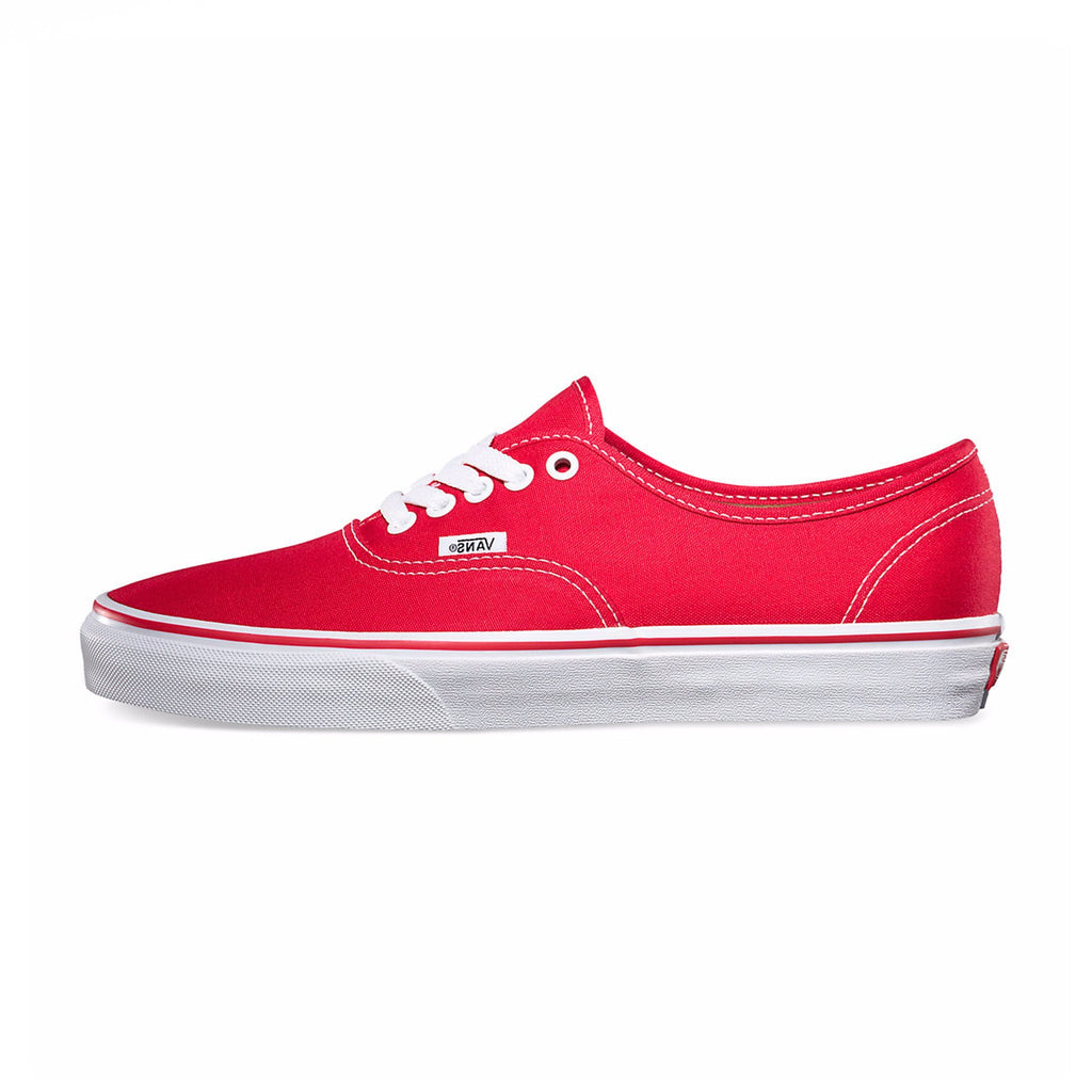 VANS Authentic - Red-True White