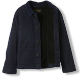 WARREN Deep Blue Denim -  Woven Multipocket Jacket 2