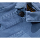 WARREN Stone Blue - Multipocket Worker Jacket 3