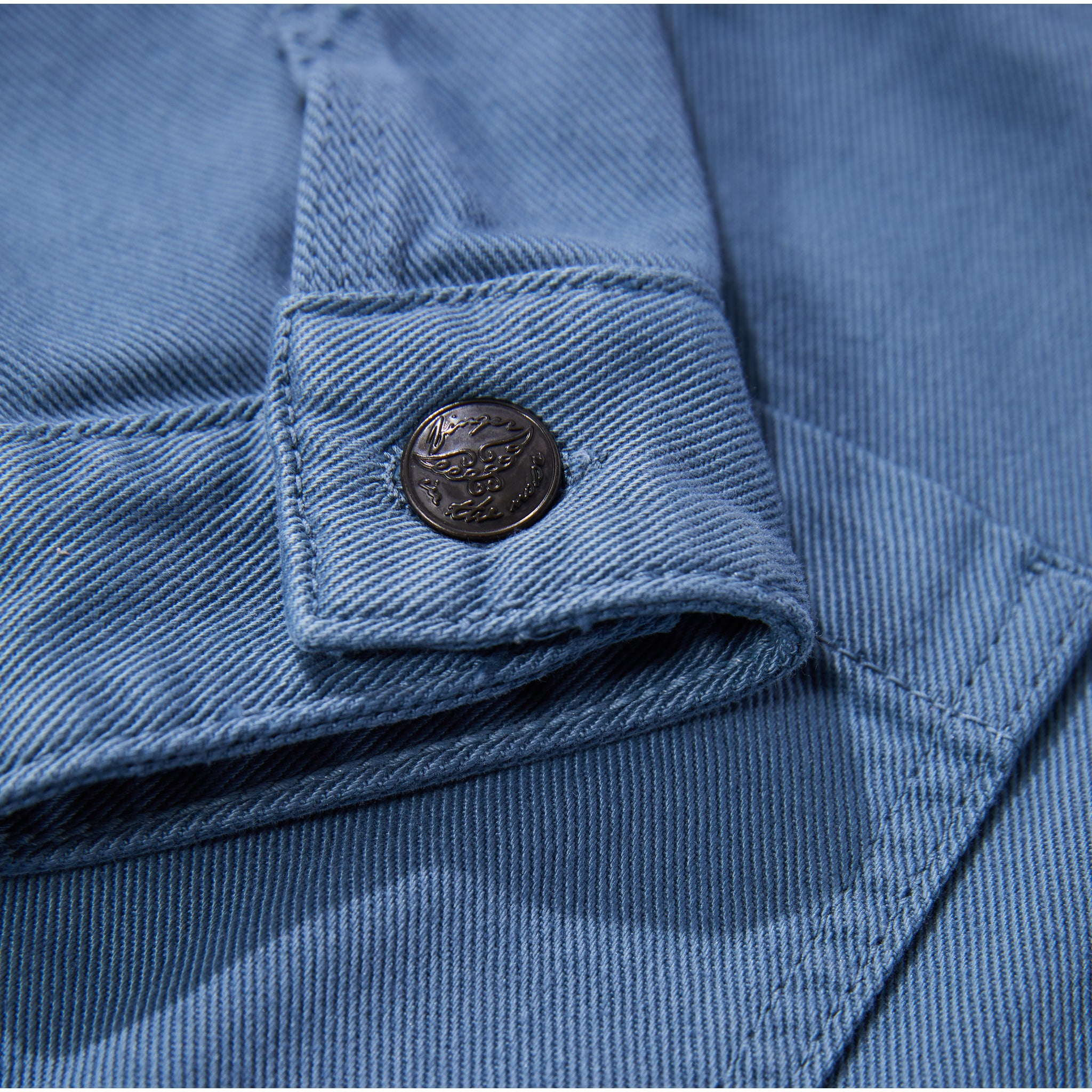 WARREN Stone Blue - Multipocket Worker Jacket 4