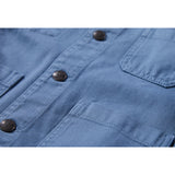 WARREN Stone Blue - Multipocket Worker Jacket 5