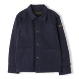 WARREN Super Navy - Unisex Woven Multipocket Jacket 1