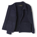 WARREN Super Navy - Unisex Woven Multipocket Jacket 4