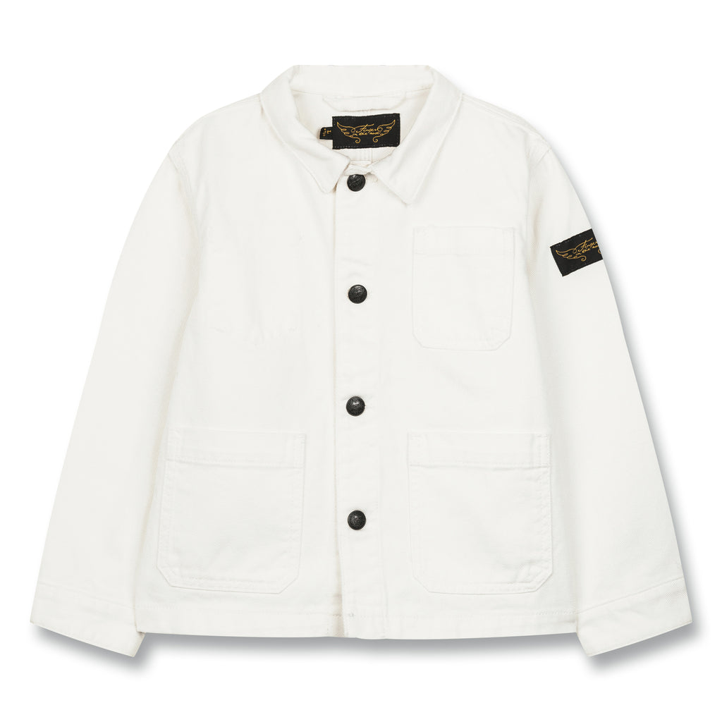WARREN White - Multipocket Worker Jacket 1