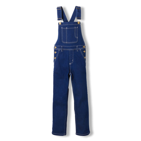 WORKER Raw Denim Blue -  Woven Loose Fit Overall 1