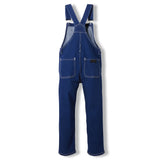 WORKER Raw Denim Blue -  Woven Loose Fit Overall 2