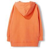 YANKTON Orange -  Knitted Oversized Hoody 3