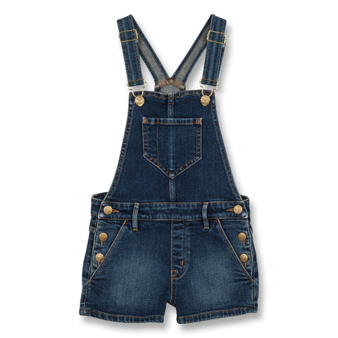 YUMI Authentic Blue - Denim Short Overall 1