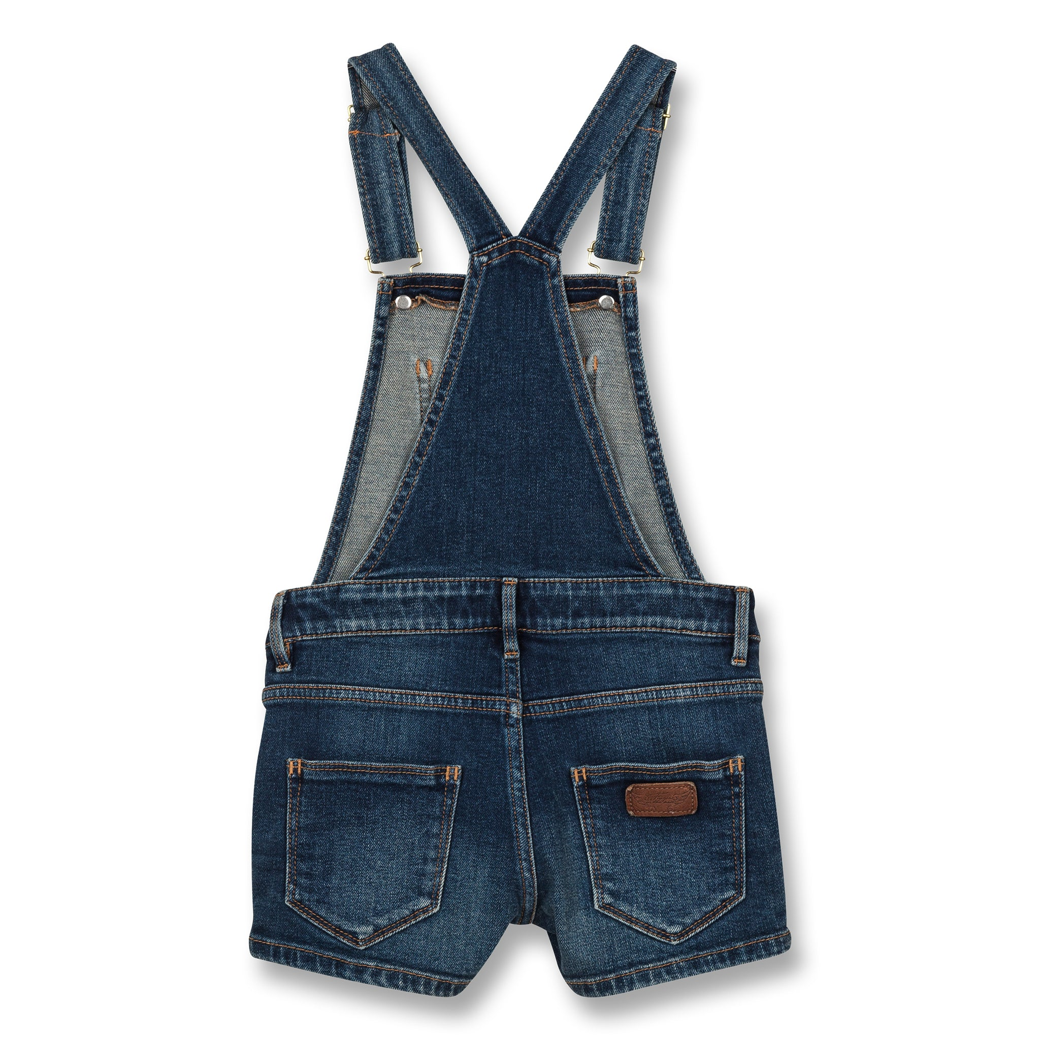 YUMI Authentic Blue - Denim Short Overall 2