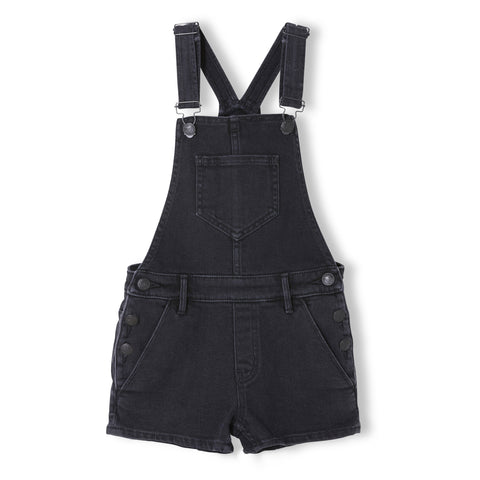 YUMI Khol Denim - Girl Woven Denim Shirt Overall 1