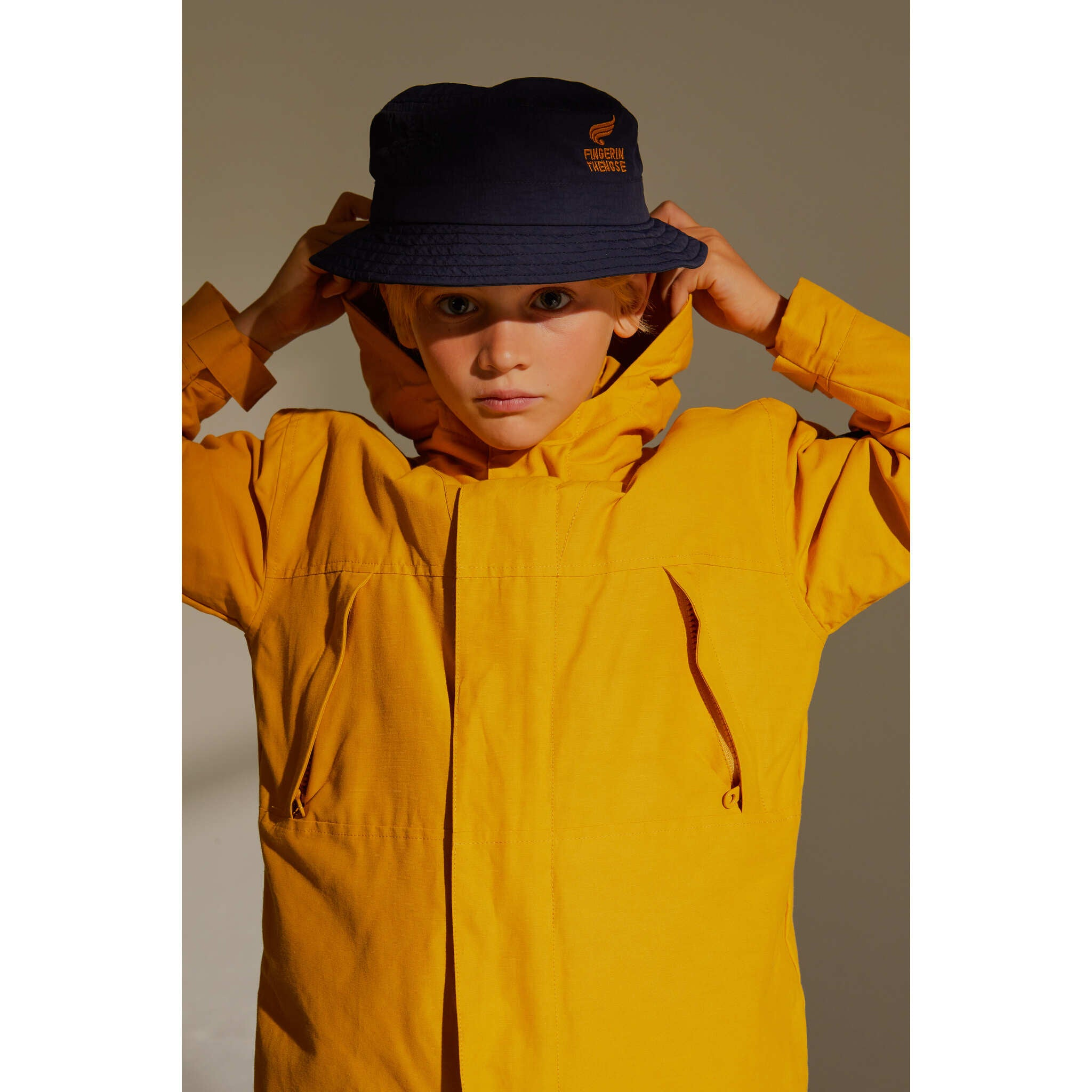 ZEPHYR Mustard -  Windbreaker Jacket 2