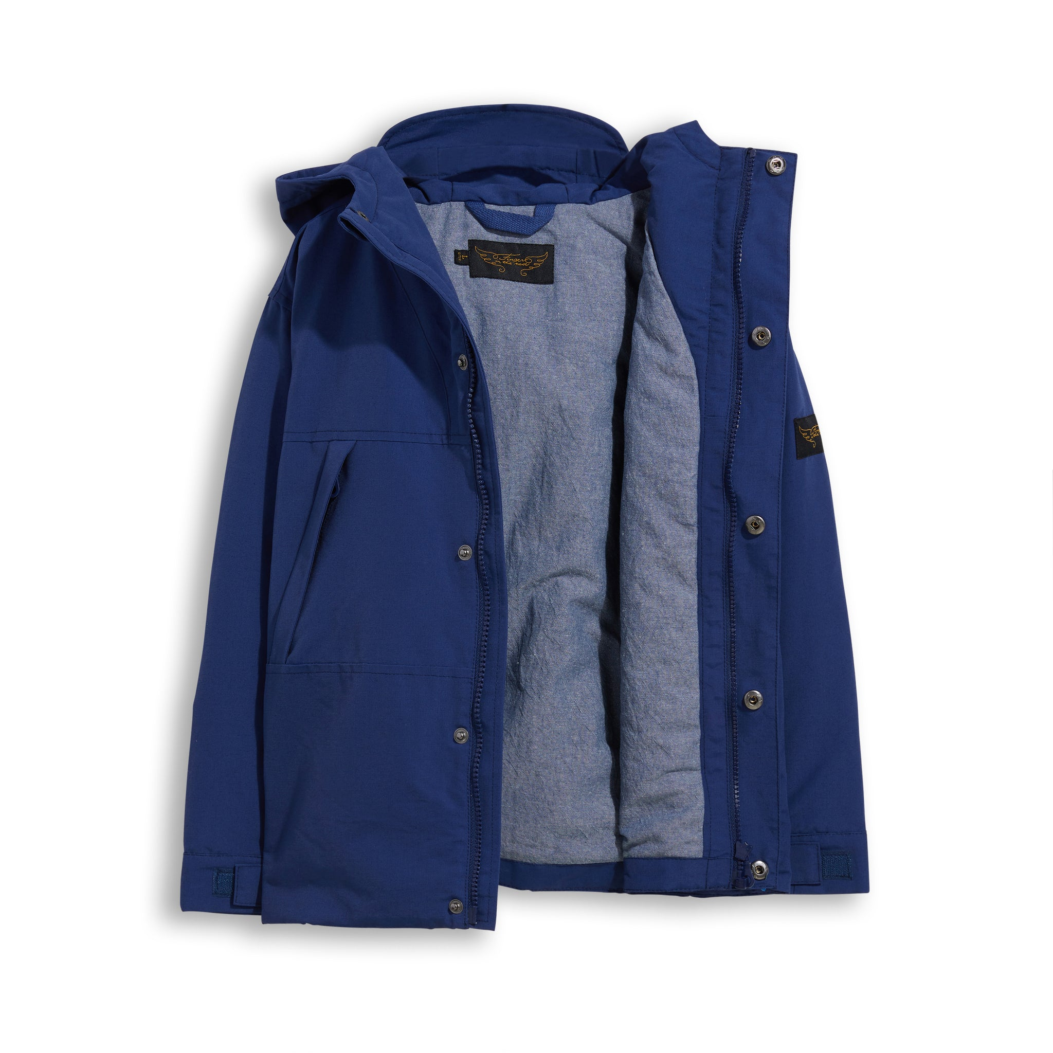 ZEPHYR Royal Blue -  Windbreaker Jacket 3