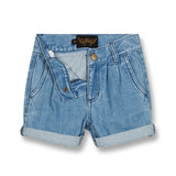 MARLIE Blue Denim - Loose Fit Short