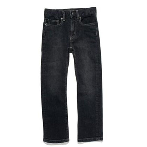 NORTON Black Denim - Basic Straight Fit Jeans