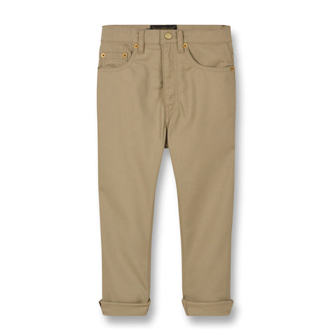 OLLIBIS Linen - 5-Pocket Baggy Fit Pants