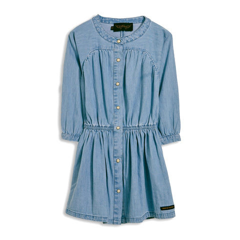 ROSELAKE Bleached Blue - Raglan Sleeve Dress