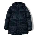 SNOWCAMP Navy Checker - Zipped Down Parka