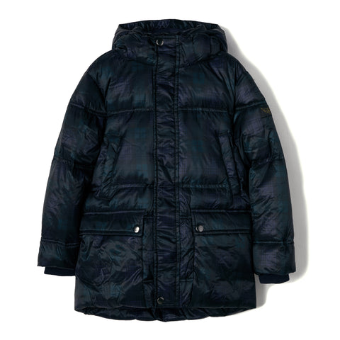 SNOWCAMP Navy Checker - Down Parka