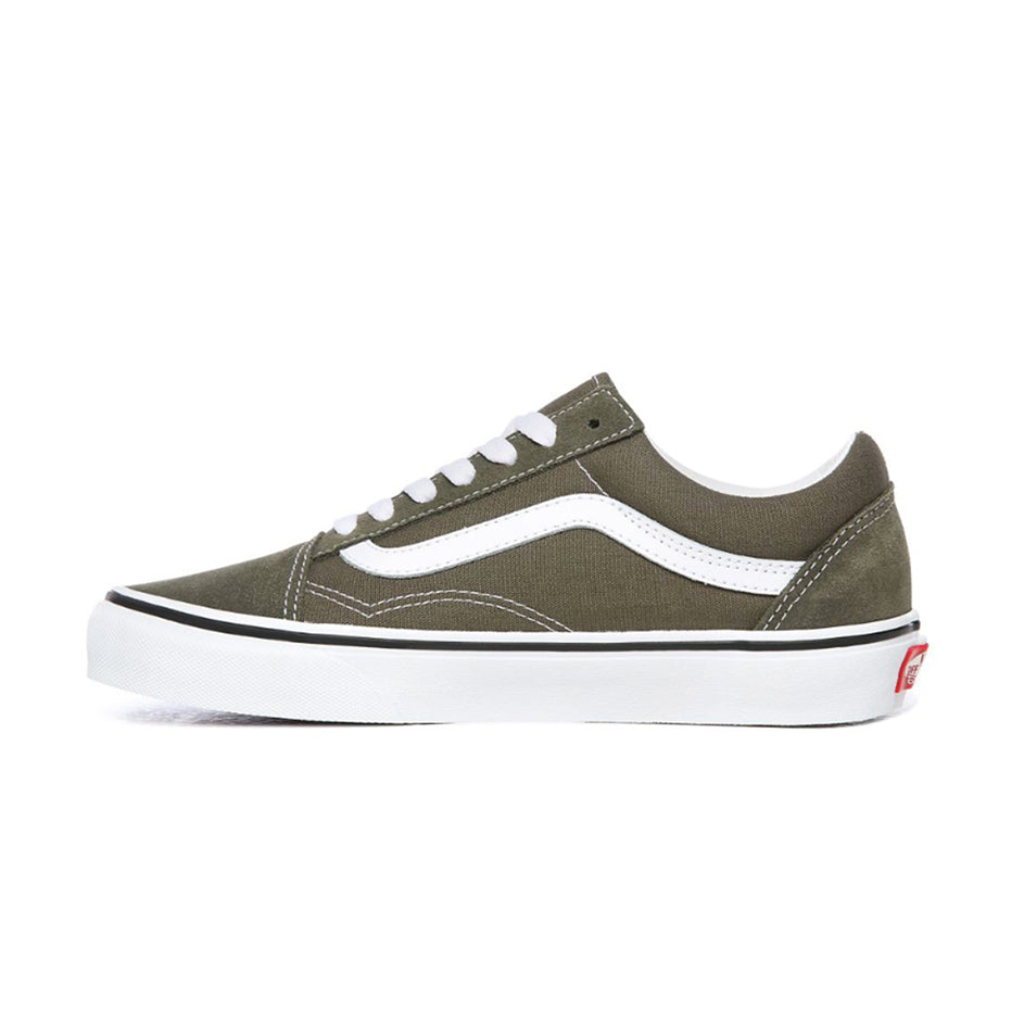Vans Old Skool - Grape leaf-True White