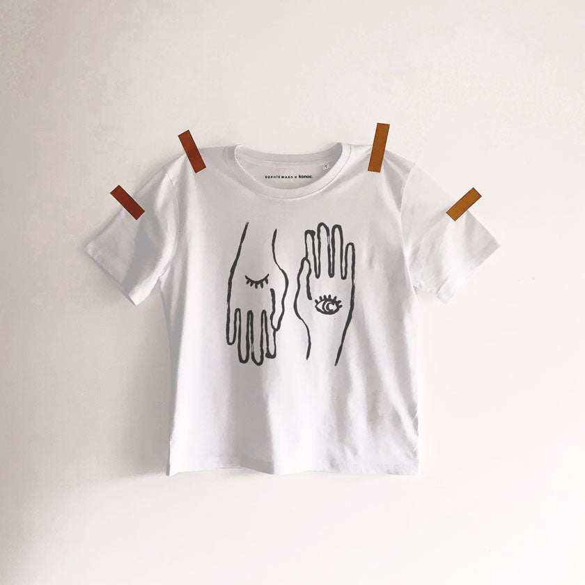 HAND TO EYE T-SHIRT BLACK