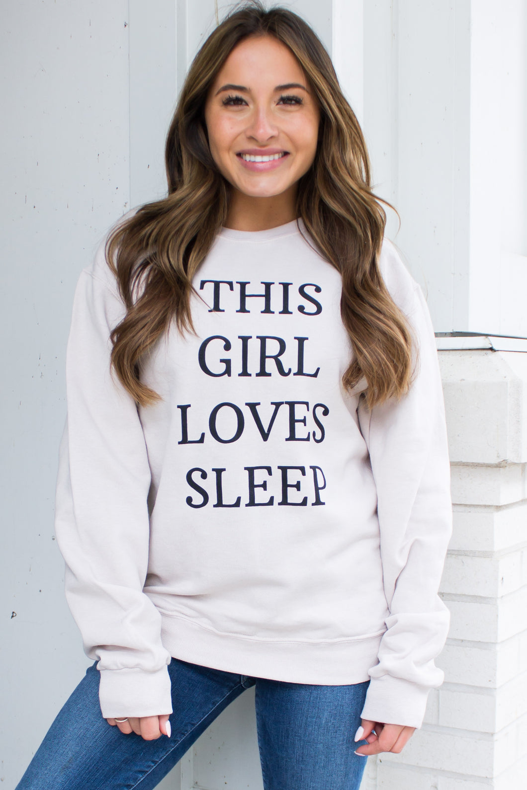 This Girl Loves Sleep Sweatshirt
