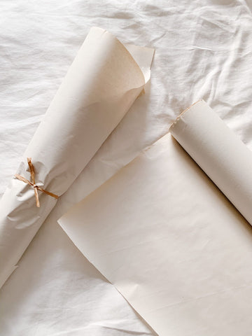 sustainable packaging, eco-friendly packaging, green shipping, kraft paper used for protecting dried flowers