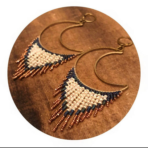 Only Child Handicrafts beaded earrings