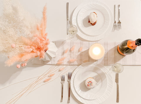 valentines day tablescapes decorations examples