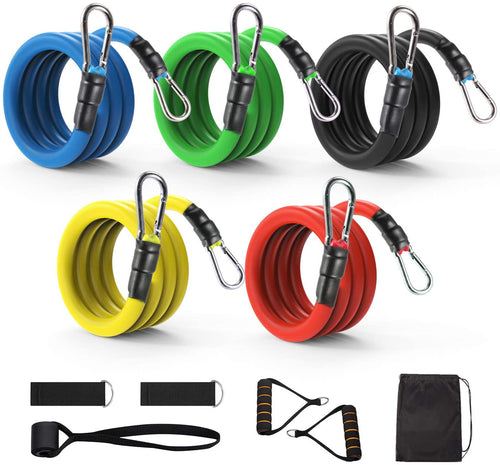 Exercise Resistance Bands Set 11 pcs - Ecroborder store