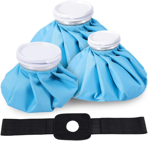 Ice Bag 4 Pack, 3 Sizes (6