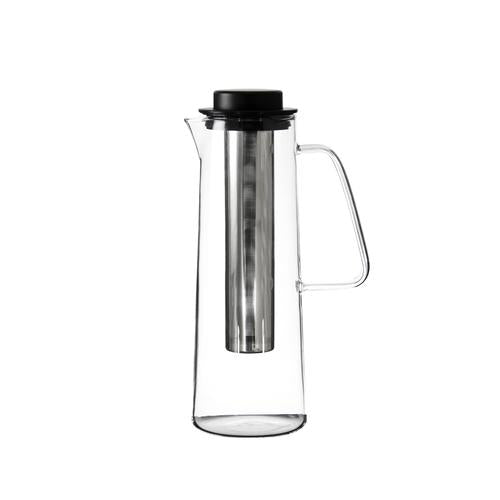 Glass Jug | Iced Tea with Stainless Steel Infuser & PP Lid