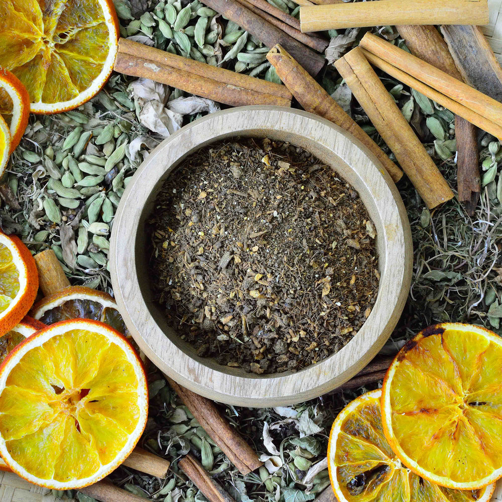 Flu Tea - Tepane Black Bush Tea | Lemon, Ginger & Cinnamon Fusion