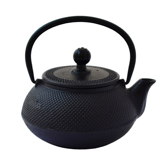 Cast Iron Tetsubin Teapot, 600ml – Black