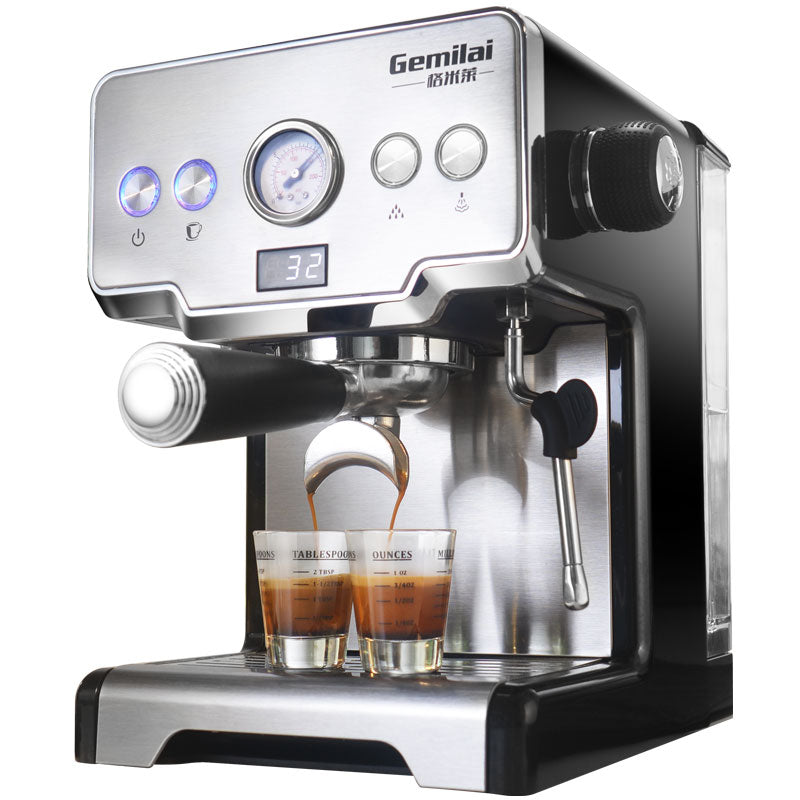 15 Bar Italian Coffee Machine Stainless Steel