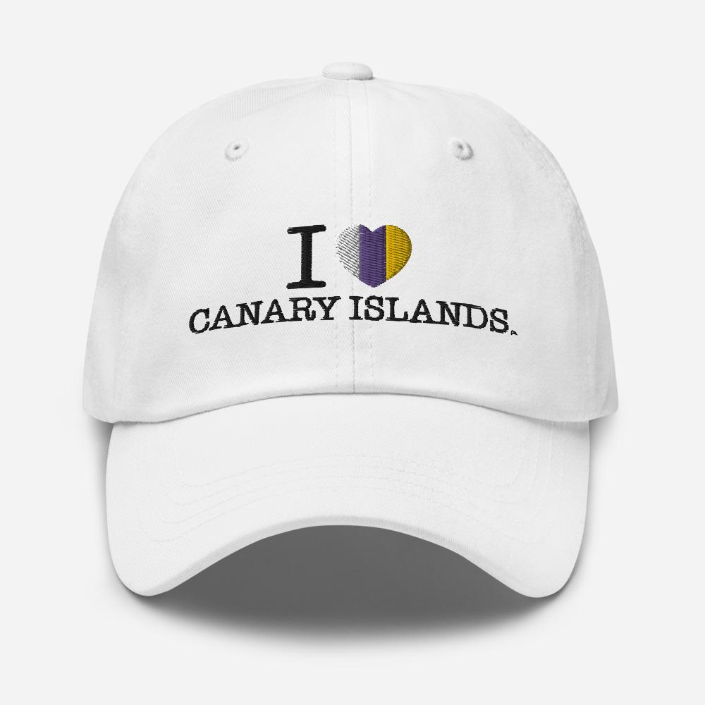 Unisex sport's cap I LOVE CANARY ISLANDS - Tenerife Surprise Shop