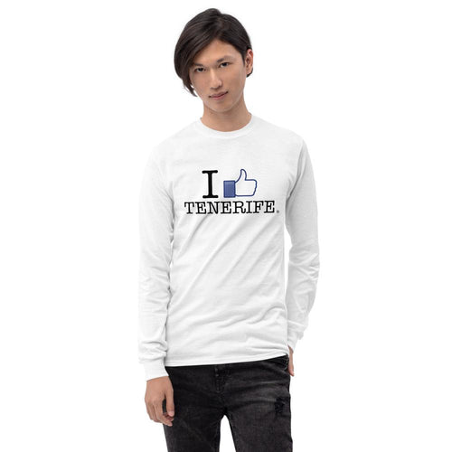 Man's Long Sleeve Shirt I LIKE TENERIFE - Tenerife Surprise Shop